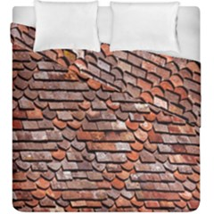 Roof Tiles On A Country House Duvet Cover Double Side (king Size) by Amaryn4rt
