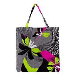 Nameless Fantasy Grocery Tote Bag by Amaryn4rt