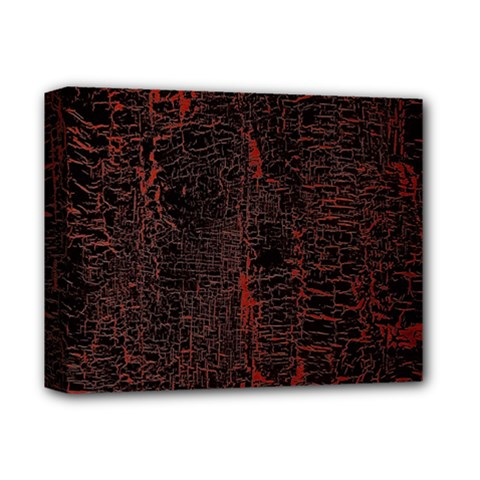 Black And Red Background Deluxe Canvas 14  X 11  by Amaryn4rt