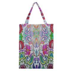 Wallpaper Created From Coloring Book Classic Tote Bag by Amaryn4rt