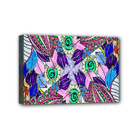 Wallpaper Created From Coloring Book Mini Canvas 6  X 4  by Amaryn4rt