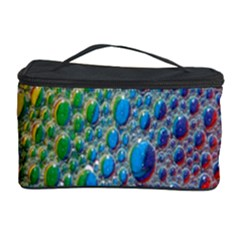 Bubbles Rainbow Colourful Colors Cosmetic Storage Case by Amaryn4rt