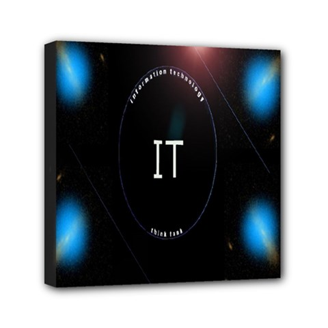 This Is An It Logo Mini Canvas 6  X 6  by Simbadda
