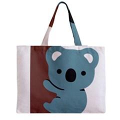 Animal Koala Medium Zipper Tote Bag by Alisyart