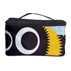 Bee Wasp Face Sinister Eye Fly Cosmetic Storage Case by Alisyart