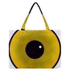 Big Eye Red Black Medium Zipper Tote Bag by Alisyart