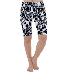Pattern Cropped Leggings  by Valentinaart
