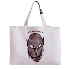 Scary Vampire Drawing Medium Zipper Tote Bag by dflcprints