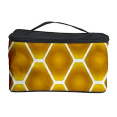 Snake Abstract Background Pattern Cosmetic Storage Case by Simbadda