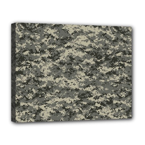 Us Army Digital Camouflage Pattern Canvas 14  X 11  by Simbadda