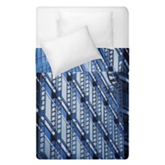Building Architectural Background Duvet Cover Double Side (single Size) by Simbadda