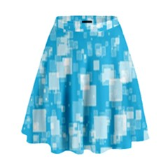 Pattern High Waist Skirt