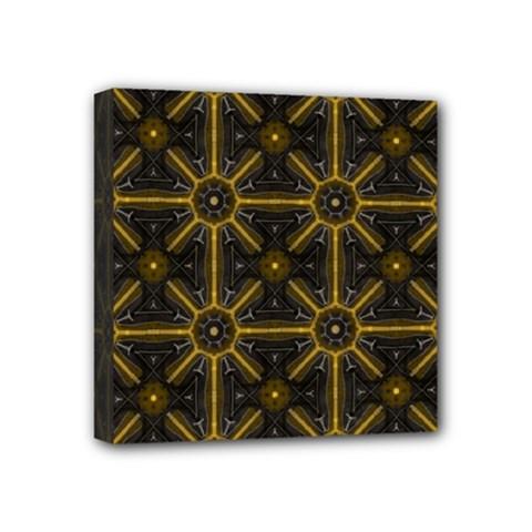 Digitally Created Seamless Pattern Tile Mini Canvas 4  X 4  by Simbadda