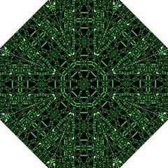 An Overly Large Geometric Representation Of A Circuit Board Straight Umbrellas by Simbadda