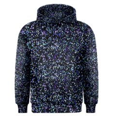 Pixel Colorful And Glowing Pixelated Pattern Men s Pullover Hoodie by Simbadda
