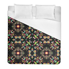 Abstract Elegant Background Pattern Duvet Cover (full/ Double Size) by Simbadda