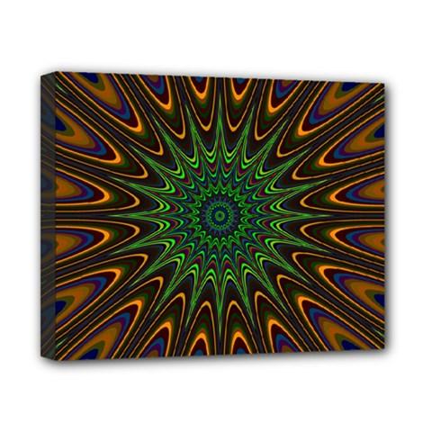 Vibrant Colorful Abstract Pattern Seamless Canvas 10  X 8  by Simbadda