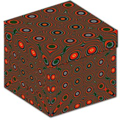 Vibrant Pattern Seamless Colorful Storage Stool 12   by Simbadda