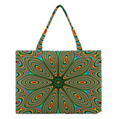Vibrant Seamless Pattern  Colorful Medium Tote Bag by Simbadda