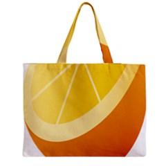 Orange Lime Yellow Fruit Fress Medium Tote Bag by Alisyart