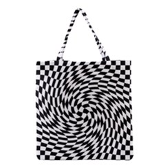 Whirl Grocery Tote Bag by Simbadda