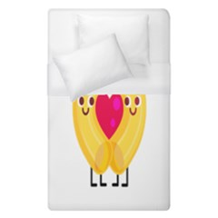 Say Pasta Love Duvet Cover (single Size) by Alisyart