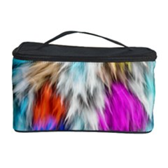 Fur Fabric Cosmetic Storage Case by Simbadda
