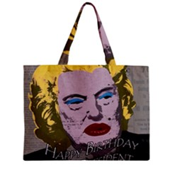 Happy Birthday Mr  President  Zipper Mini Tote Bag by Valentinaart