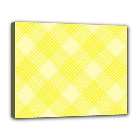 Pattern Canvas 14  X 11  by Valentinaart