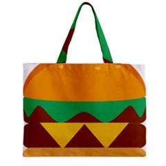 Hamburger Bread Food Cheese Medium Tote Bag by Simbadda