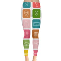 Icons Vector Leggings