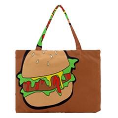 Burger Double Medium Tote Bag by Simbadda
