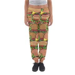 Burger Double Border Women s Jogger Sweatpants by Simbadda