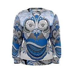 Pattern Monkey New Year S Eve Women s Sweatshirt by Simbadda
