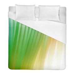 Folded Digitally Painted Abstract Paint Background Texture Duvet Cover (full/ Double Size) by Simbadda