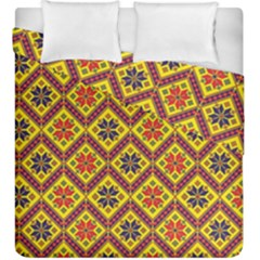 Folklore Duvet Cover Double Side (king Size) by Valentinaart