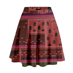 Blaster Master High Waist Skirt by Alisyart