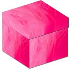 Very Pink Feather Storage Stool 12   by Simbadda