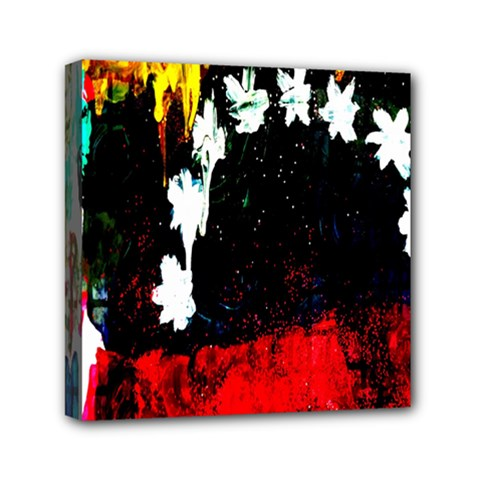 Grunge Abstract In Dark Mini Canvas 6  X 6  by Simbadda