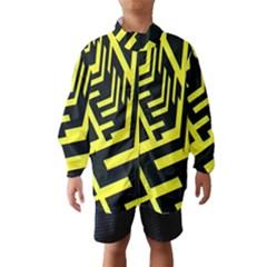 Pattern Abstract Wind Breaker (kids)