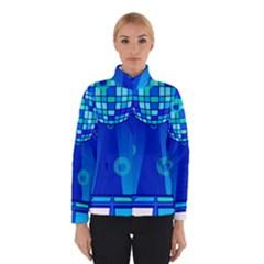 Disco Ball Retina Blue Circle Light Winterwear by Alisyart