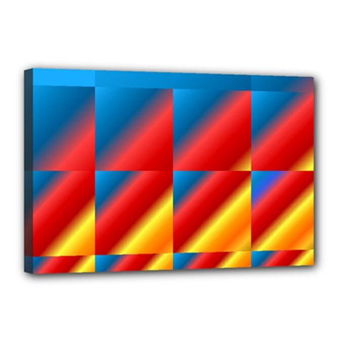 Gradient Map Filter Pack Table Canvas 18  X 12  by Simbadda