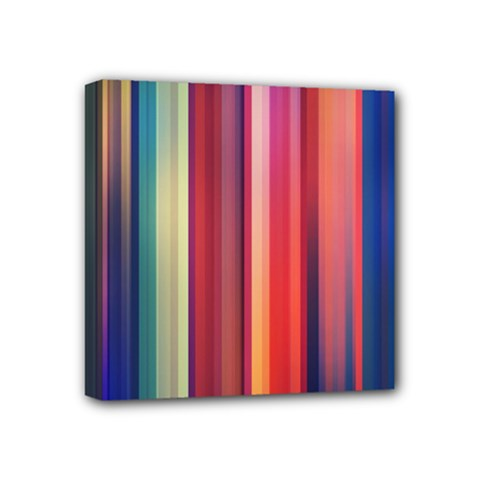 Texture Lines Vertical Lines Mini Canvas 4  X 4  by Simbadda
