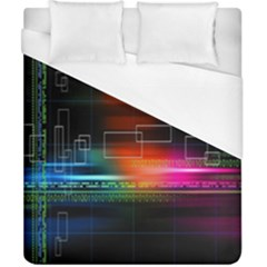 Abstract Binary Duvet Cover (california King Size)