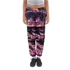 Hamburgers Digital Art Colorful Women s Jogger Sweatpants by Simbadda