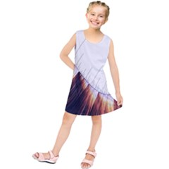 Abstract Lines Kids  Tunic Dress by Simbadda