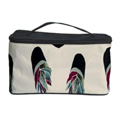 Succulent Plants Pattern Lights Cosmetic Storage Case by Simbadda