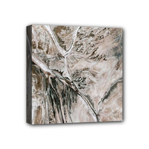 Earth Landscape Aerial View Nature Mini Canvas 4  X 4  by Simbadda