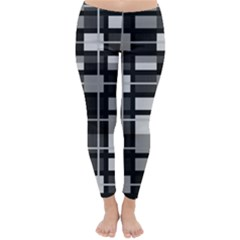 Pattern Classic Winter Leggings by Valentinaart