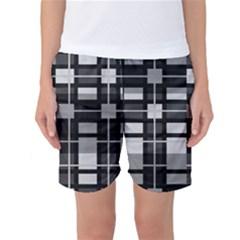 Pattern Women s Basketball Shorts by Valentinaart